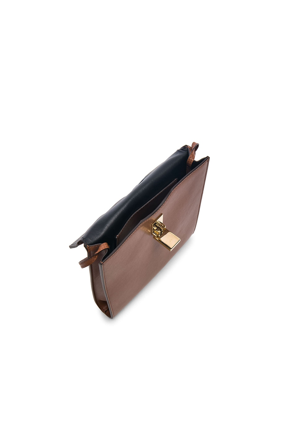 Image 4 of Victoria Beckham Postino Bag in Couoio