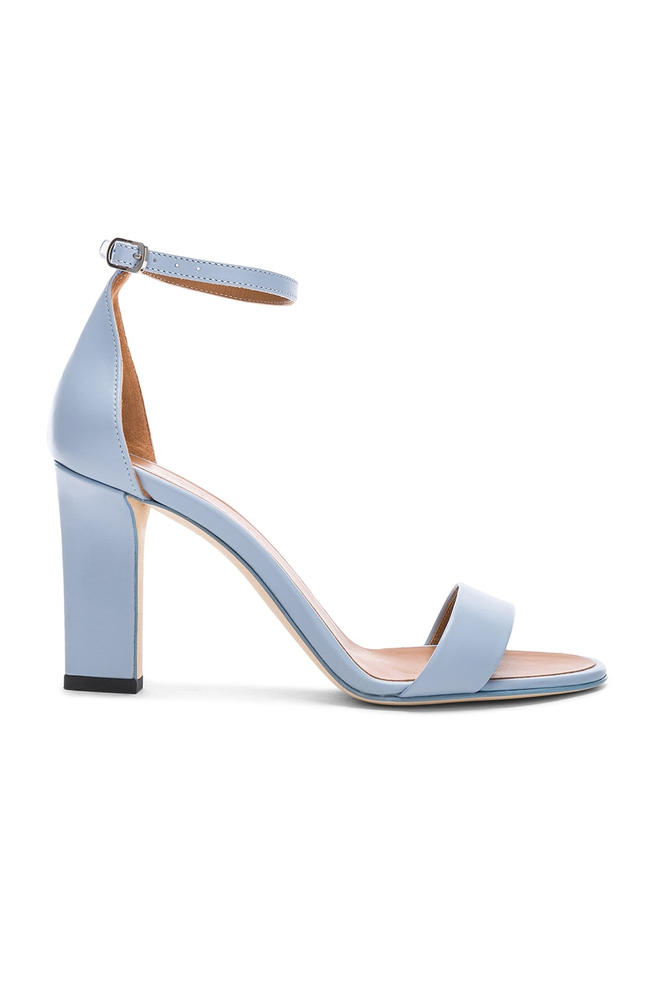 Image 1 of Victoria Beckham Anna Sandal in Baby Blue
