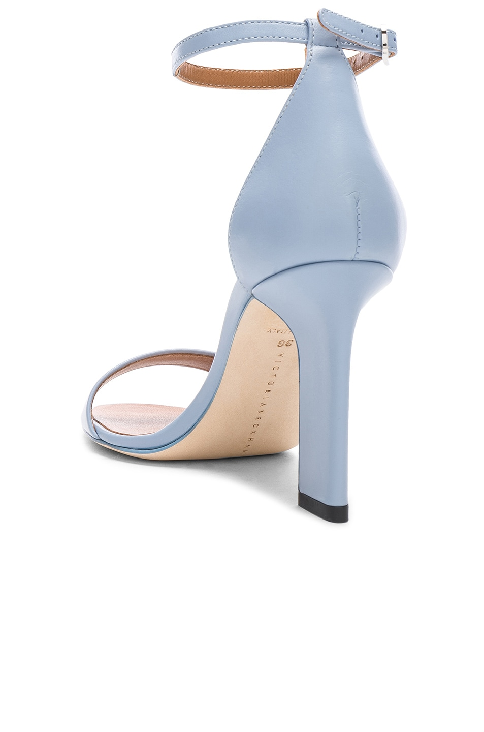 Image 3 of Victoria Beckham Anna Sandal in Baby Blue