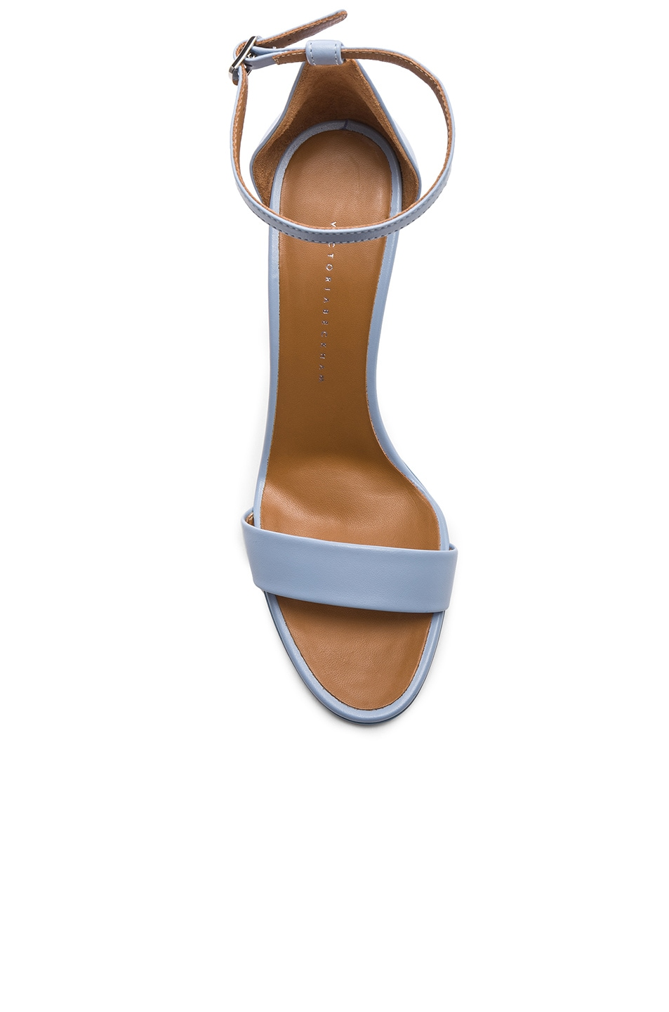 Image 4 of Victoria Beckham Anna Sandal in Baby Blue
