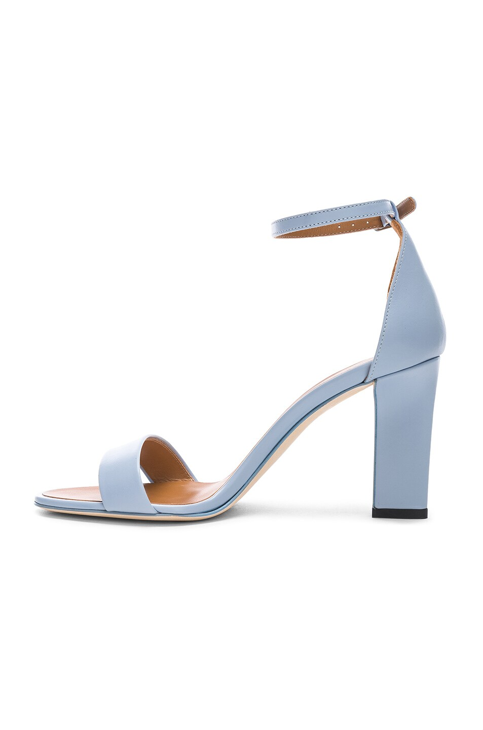 Image 5 of Victoria Beckham Anna Sandal in Baby Blue