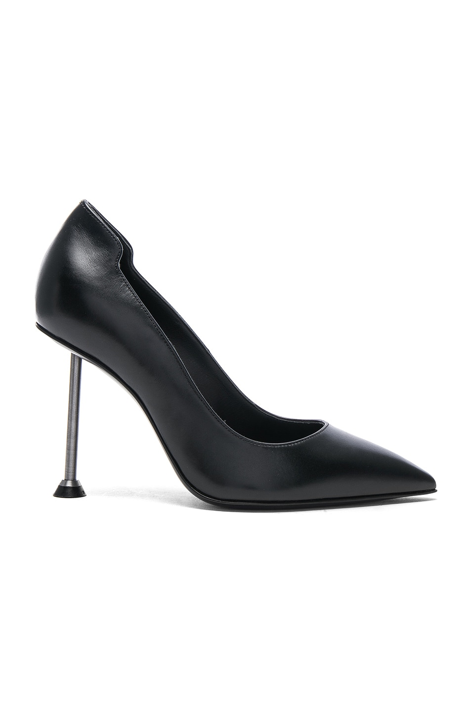 VICTORIA BECKHAM SUEDE POINTY PUMPS IN BLACK