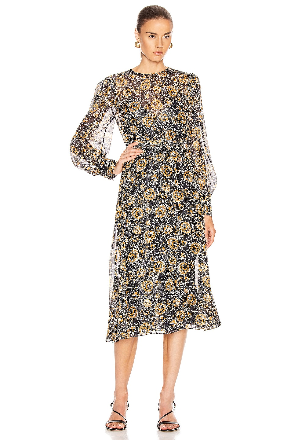 Image 1 of Veronica Beard Oneida Dress in Multi