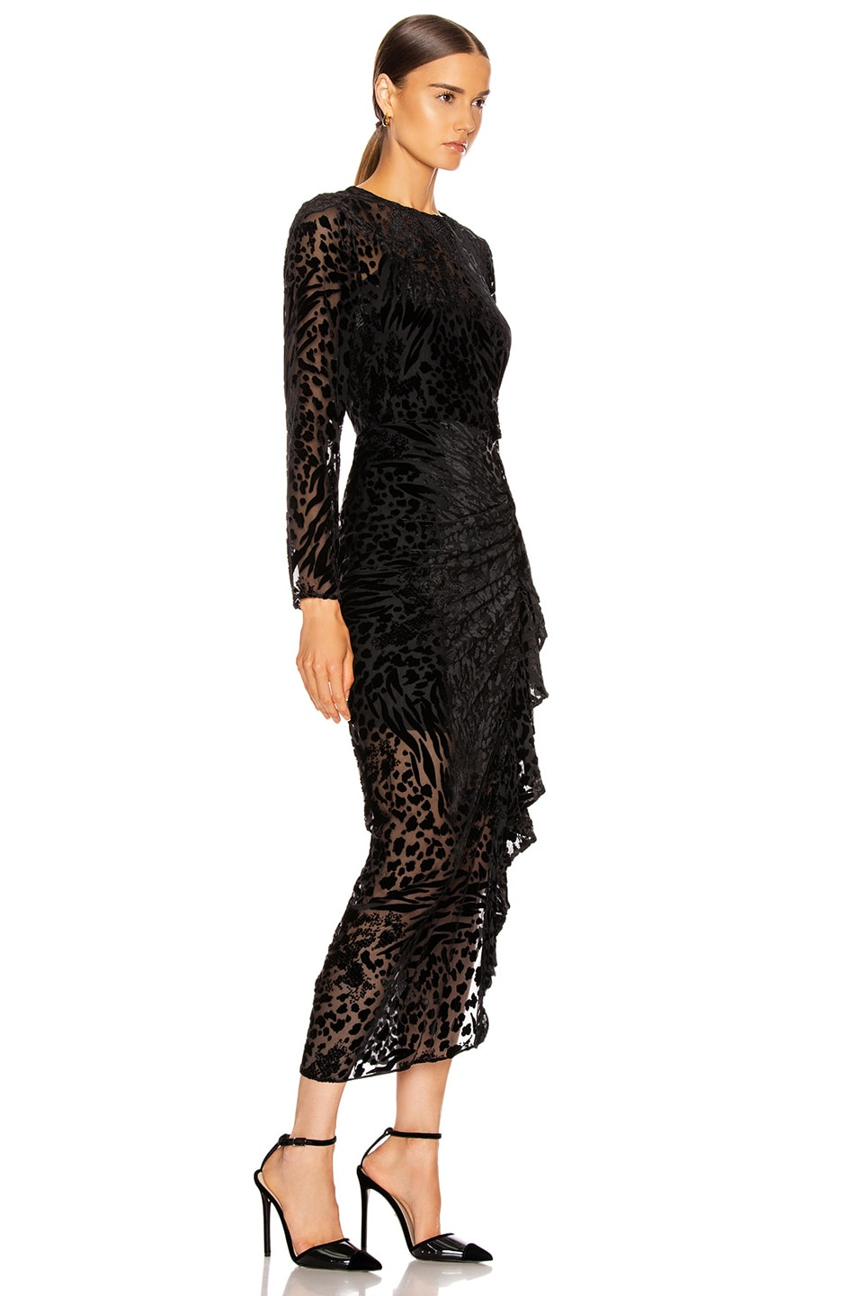 Image 2 of Veronica Beard Lala Dress in Black