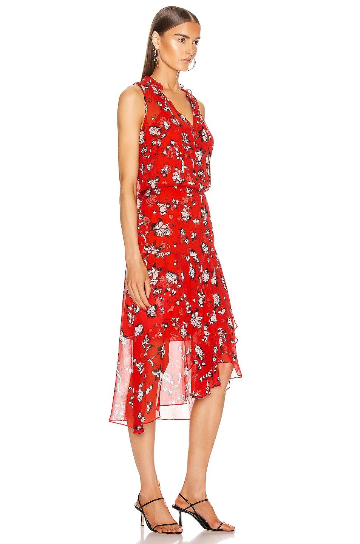Image 2 of Veronica Beard Corsica Dress in Red Multi