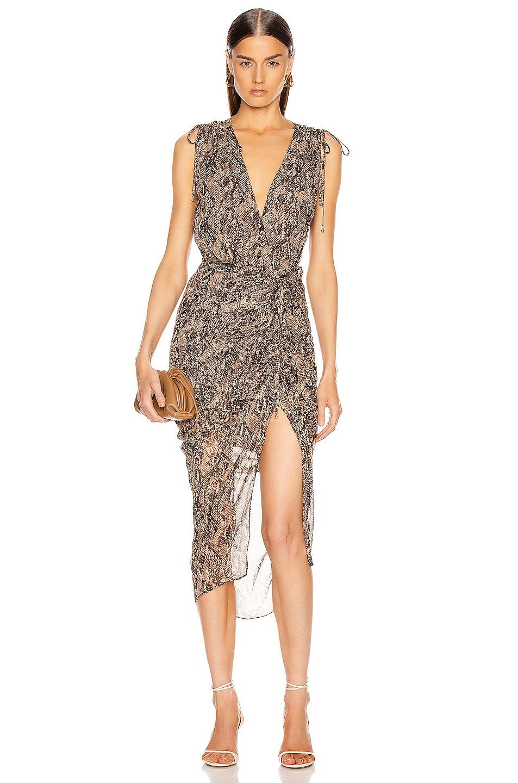 Image 1 of Veronica Beard Teagan Dress in Nude