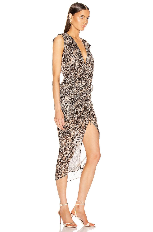 Image 2 of Veronica Beard Teagan Dress in Nude