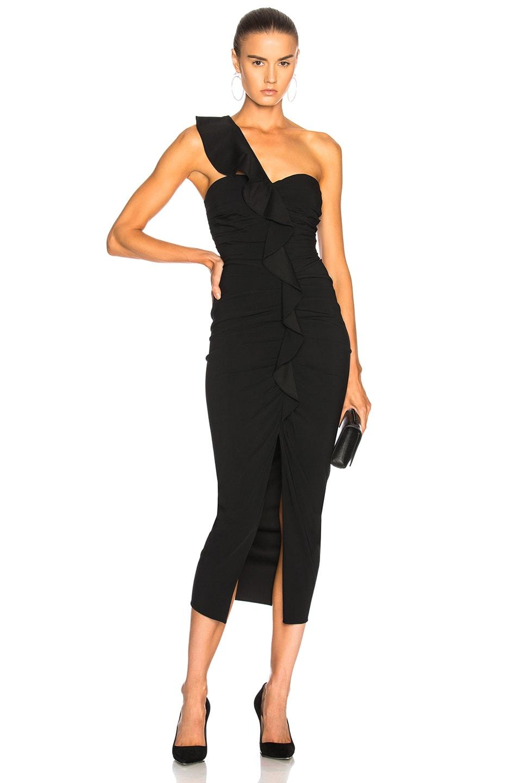 Image 1 of Veronica Beard Biba Dress in Black