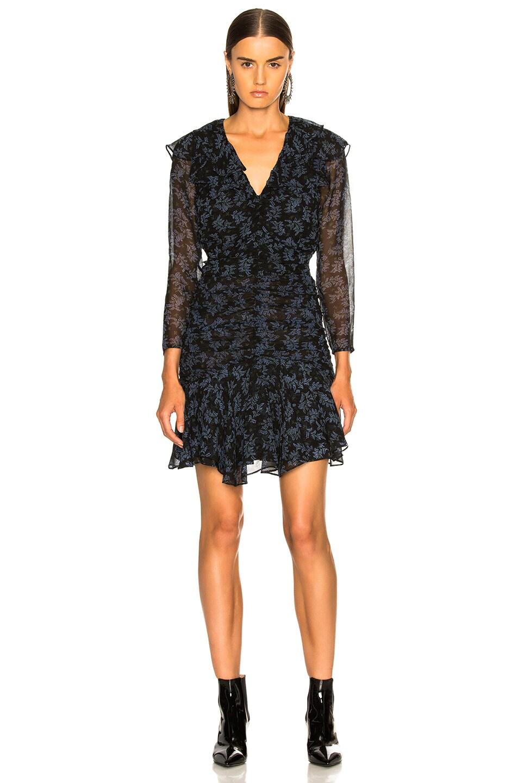 Image 2 of Veronica Beard Magg Dress in Black & Blue