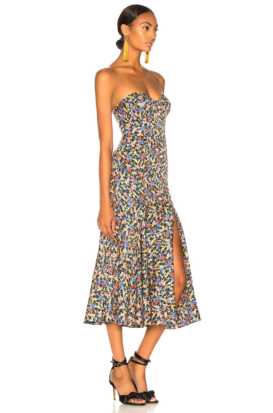 Image 2 of Veronica Beard Annika Dress in Black Multi