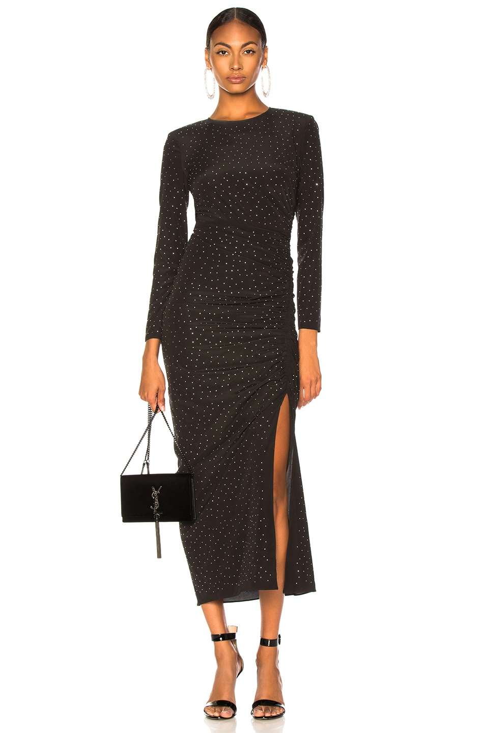 Image 1 of Veronica Beard Amara Dress in Black