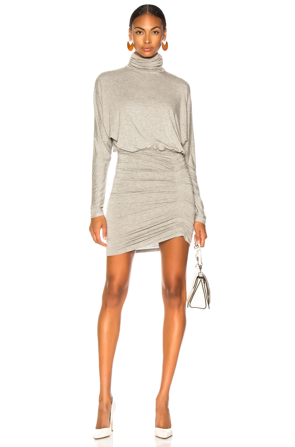 Image 1 of Veronica Beard Manda Dress in Heather Grey