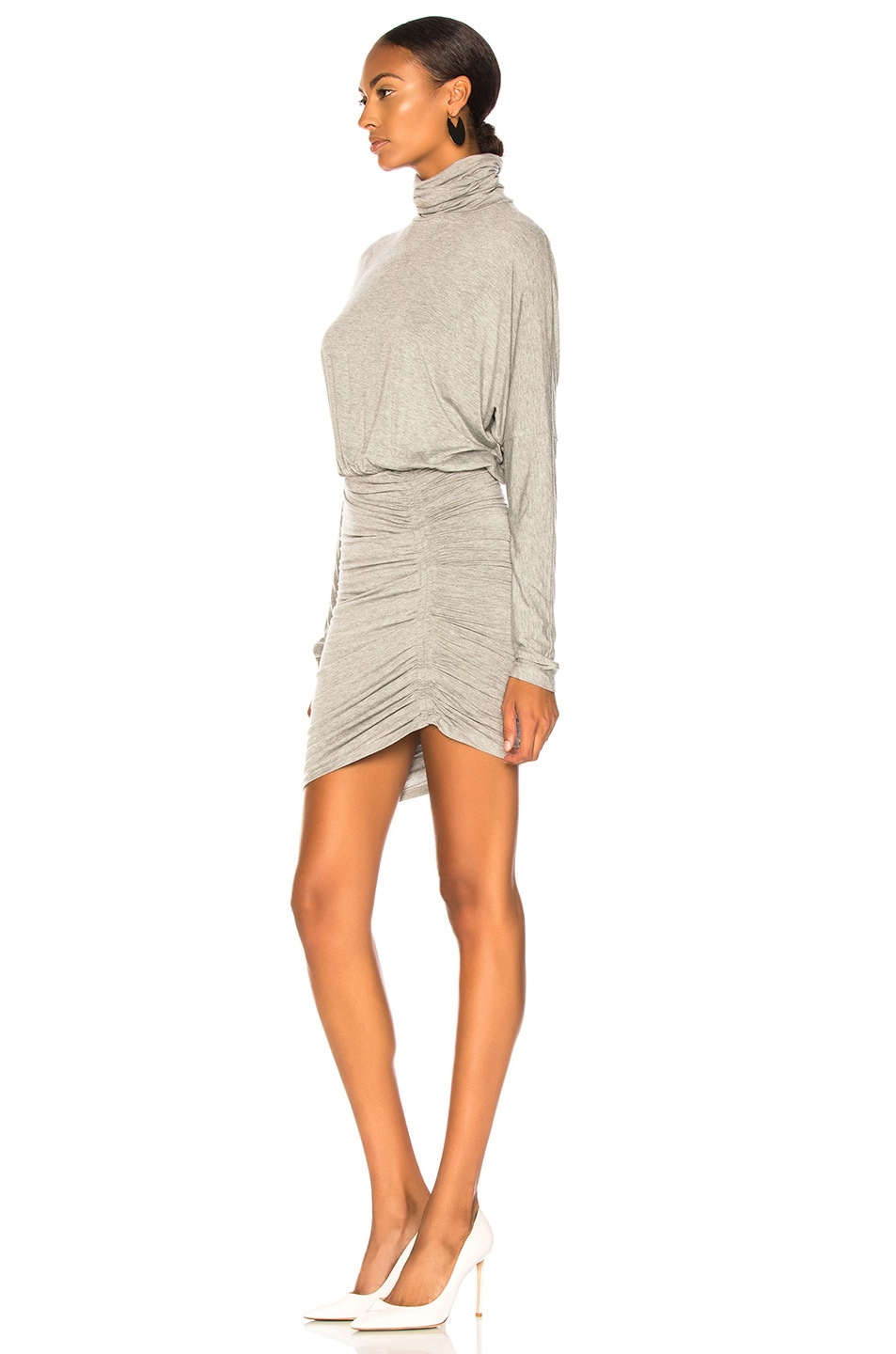 Image 3 of Veronica Beard Manda Dress in Heather Grey