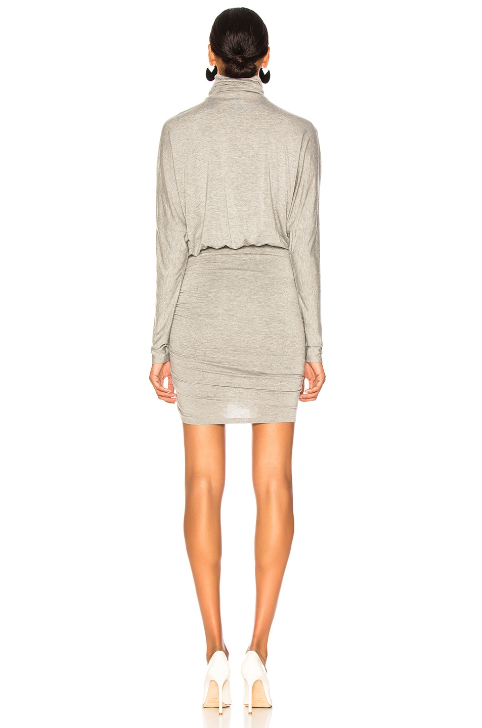 Image 4 of Veronica Beard Manda Dress in Heather Grey