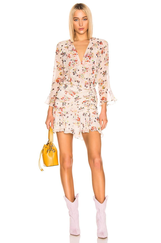 Image 1 of Veronica Beard Sean Dress in Cream Multi