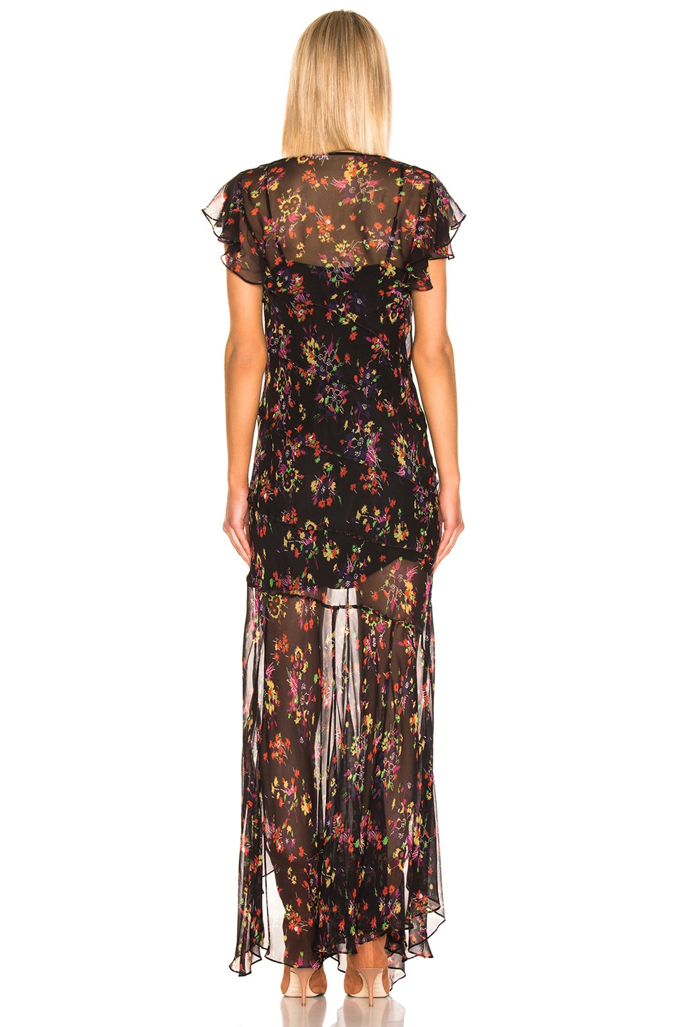 Veronica Beard Kemper Dress Black Multi outlet