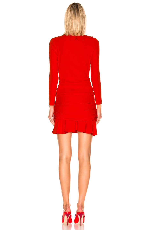 Image 3 of Veronica Beard Odessa Dress in Poppy