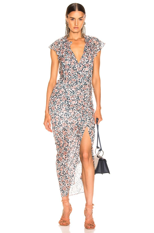 Image 1 of Veronica Beard Brynlee Dress in White Multi