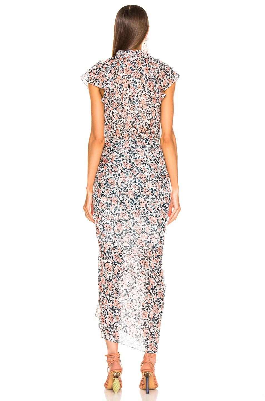 Image 3 of Veronica Beard Brynlee Dress in White Multi