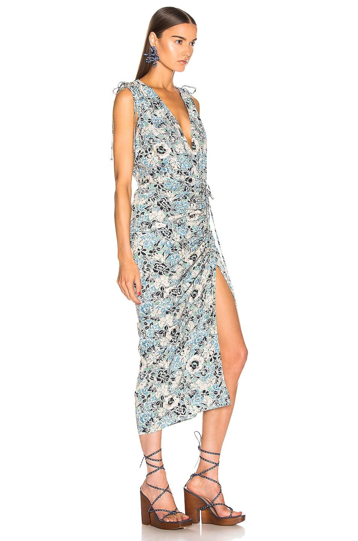 Image 2 of Veronica Beard Teagan Dress in Blue Multi