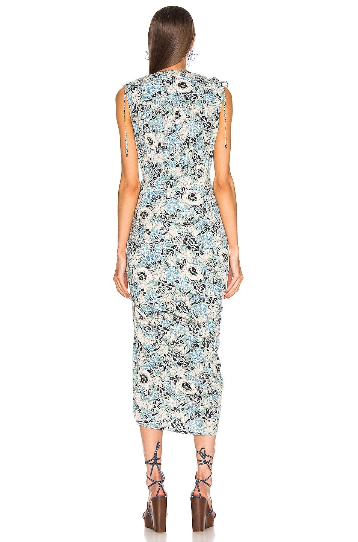 Image 3 of Veronica Beard Teagan Dress in Blue Multi