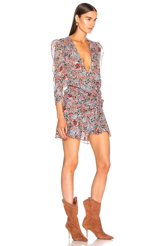 Image 2 of Veronica Beard Maggie Dress in Poppy Multi