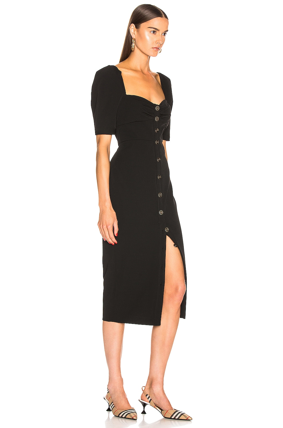Image 2 of Veronica Beard Trace Dress in Black