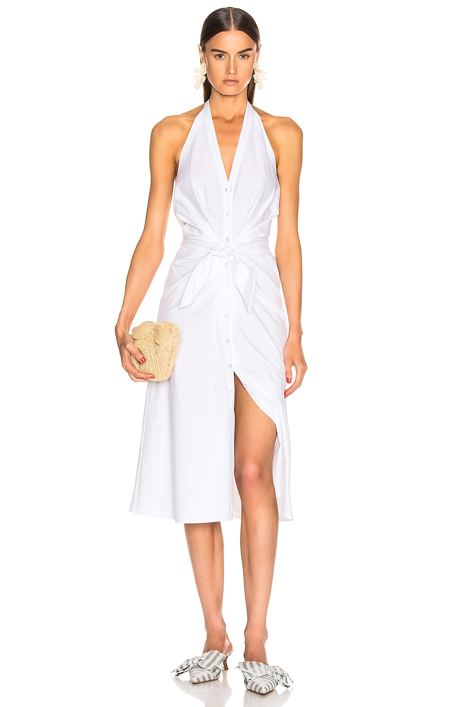 Image 1 of Veronica Beard Disa Dress in White
