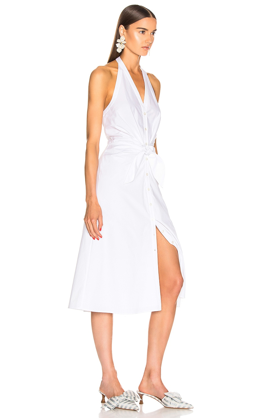Image 2 of Veronica Beard Disa Dress in White