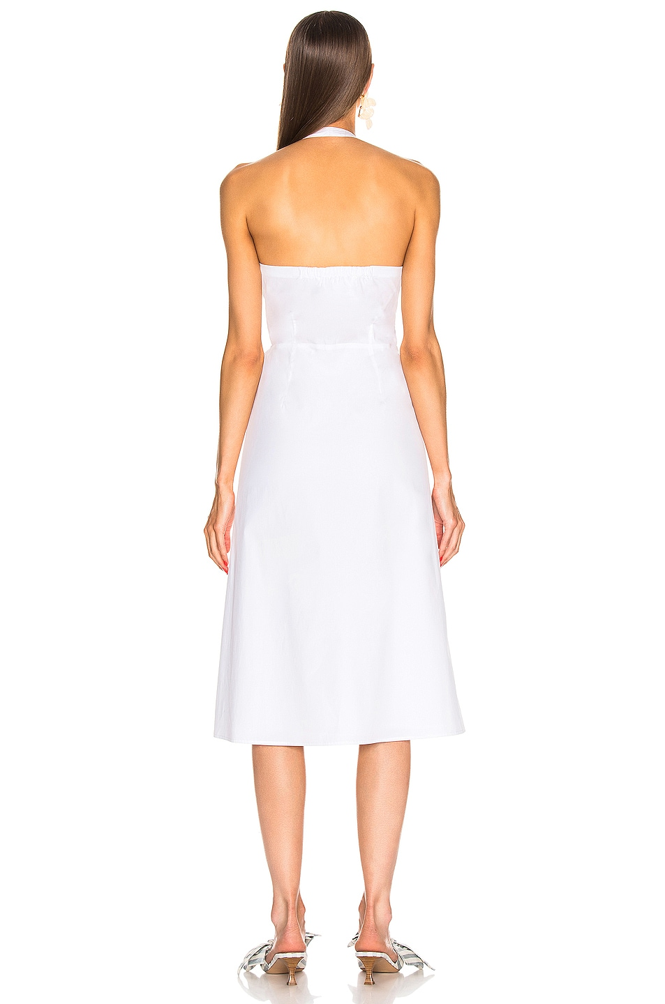 Image 3 of Veronica Beard Disa Dress in White
