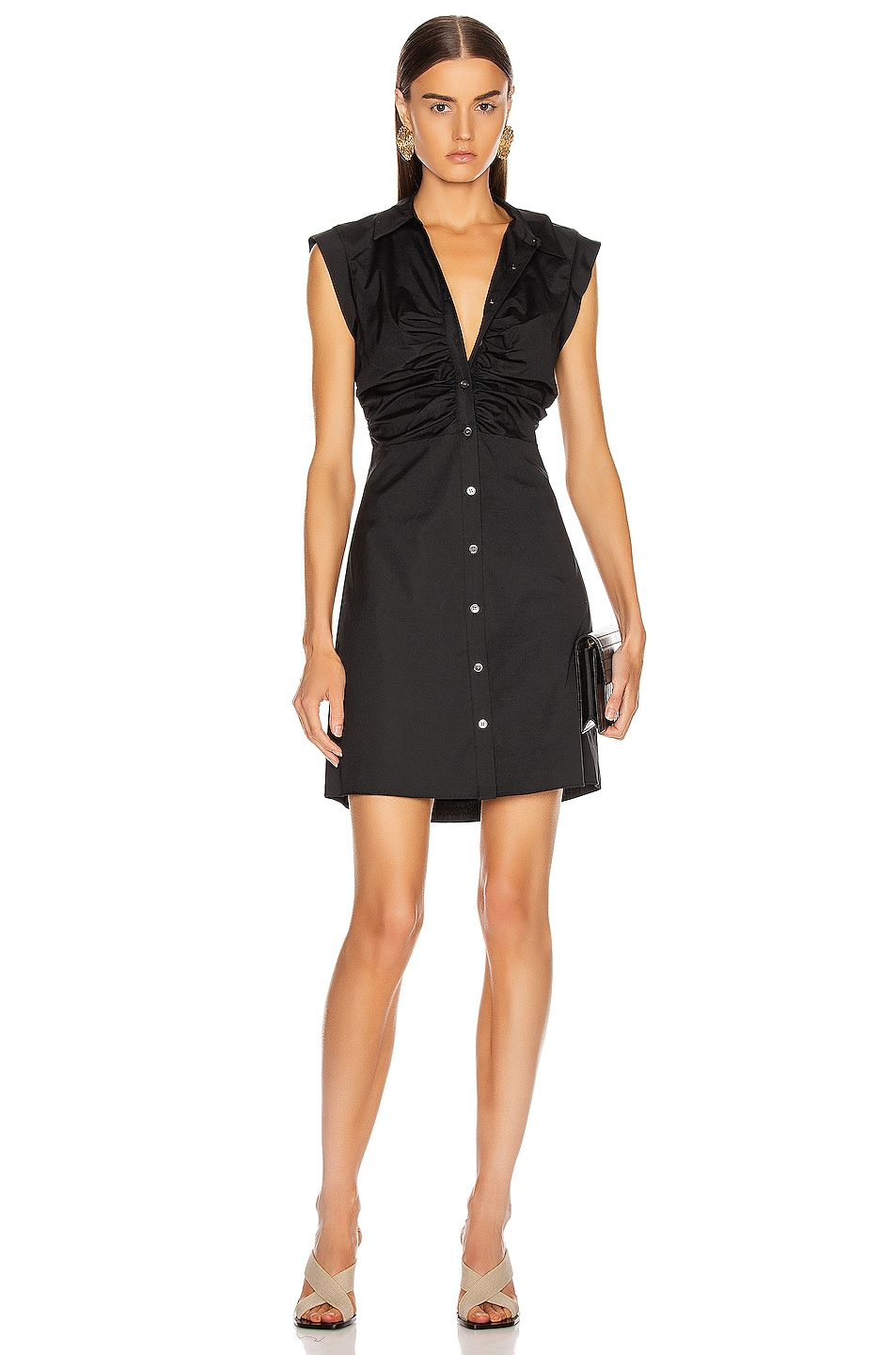 Image 1 of Veronica Beard Ferris Dress in Black