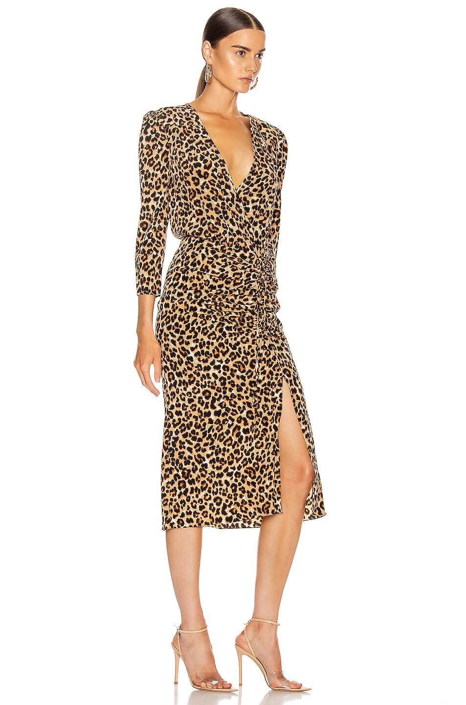 Image 2 of Veronica Beard Arielle Dress in Leopard