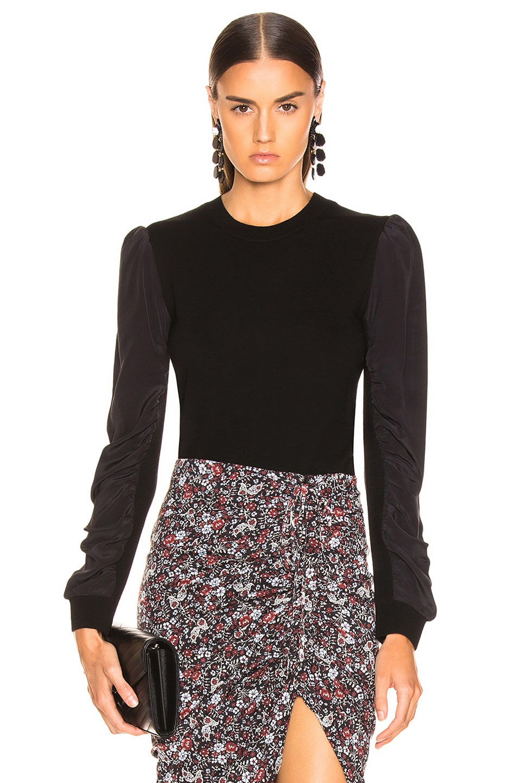 Image 1 of Veronica Beard Adler Sweater in Black