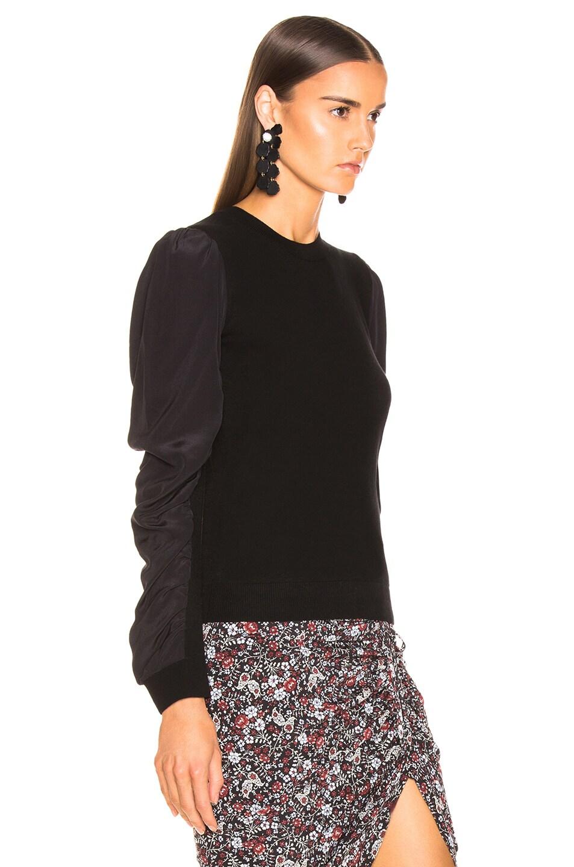 Image 2 of Veronica Beard Adler Sweater in Black