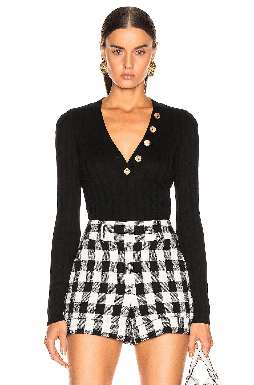 Image 1 of Veronica Beard Beaumont Sweater in Black