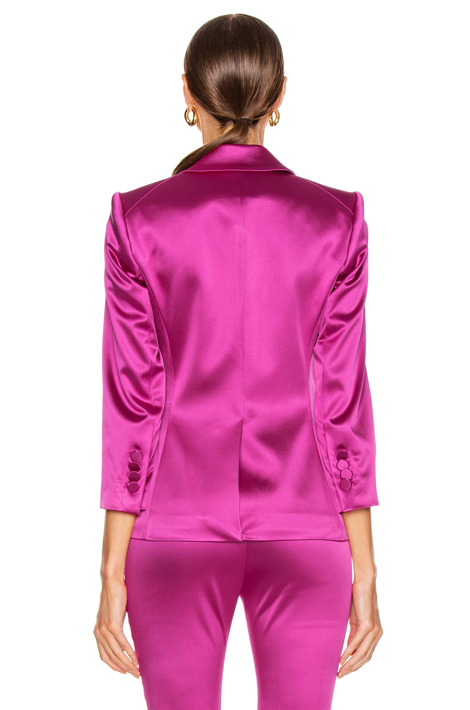 Image 3 of Veronica Beard Empire Dickey Jacket in Pink