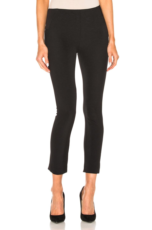 Image 1 of Veronica Beard Zip Back Scuba Pant in Black