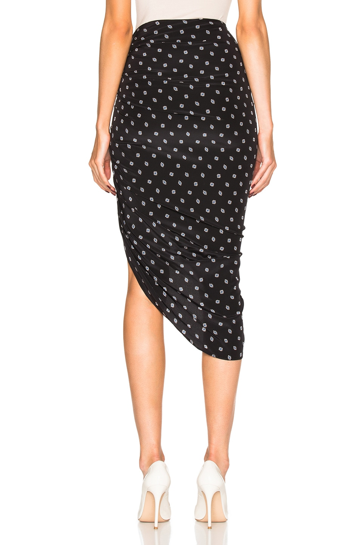 79b2a6c4e1e0 Image 4 of Veronica Beard Ari Ruched Skirt in Black