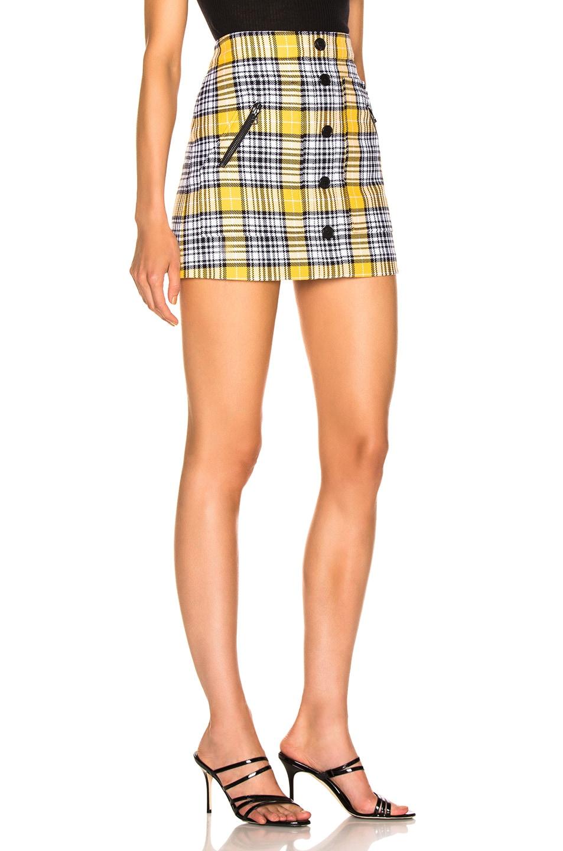 Image 2 of Veronica Beard Monroe Skirt in Yellow