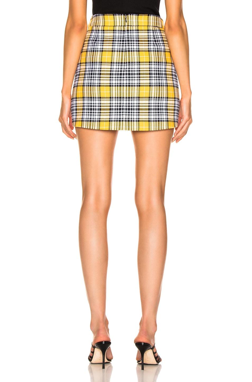 Image 3 of Veronica Beard Monroe Skirt in Yellow