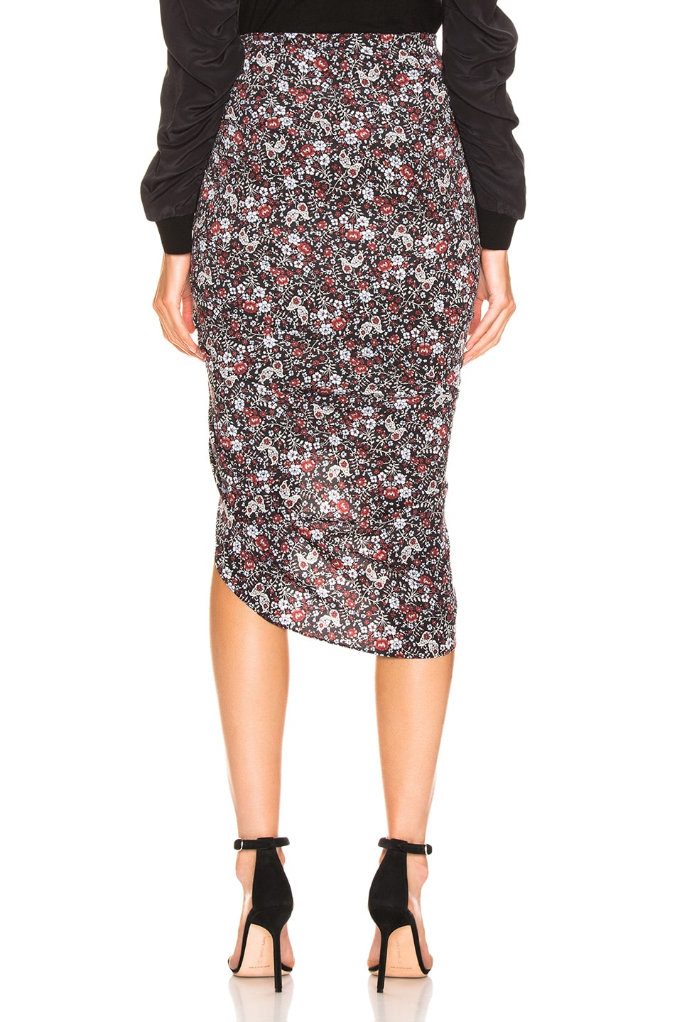 Image 4 of Veronica Beard Ari Skirt in Black Multi