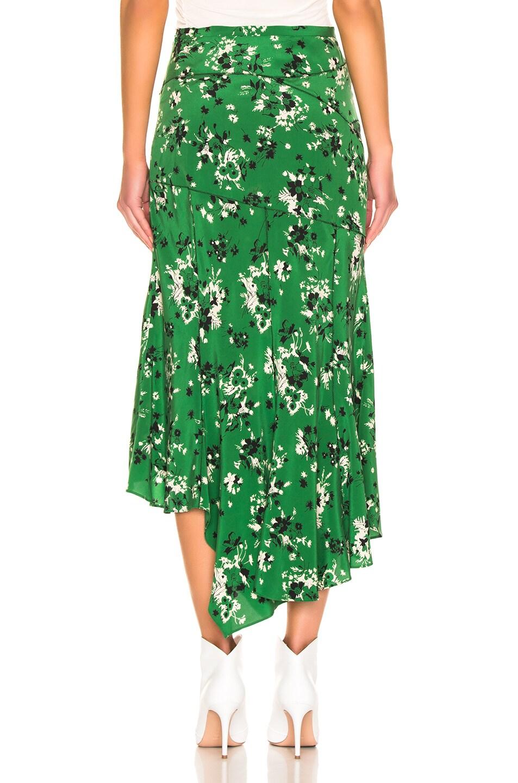 Image 3 of Veronica Beard Mac Skirt in Green Multi