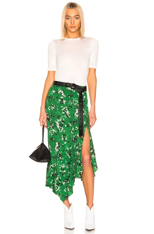 Image 4 of Veronica Beard Mac Skirt in Green Multi