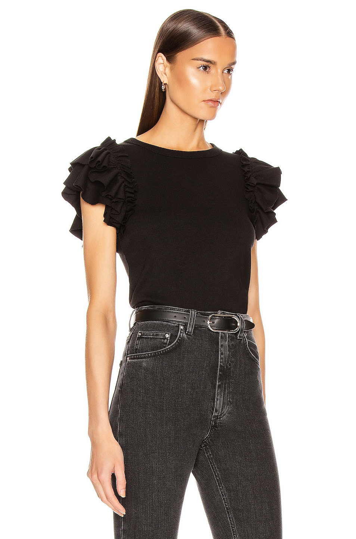 Image 2 of Veronica Beard Biscay Top in Black