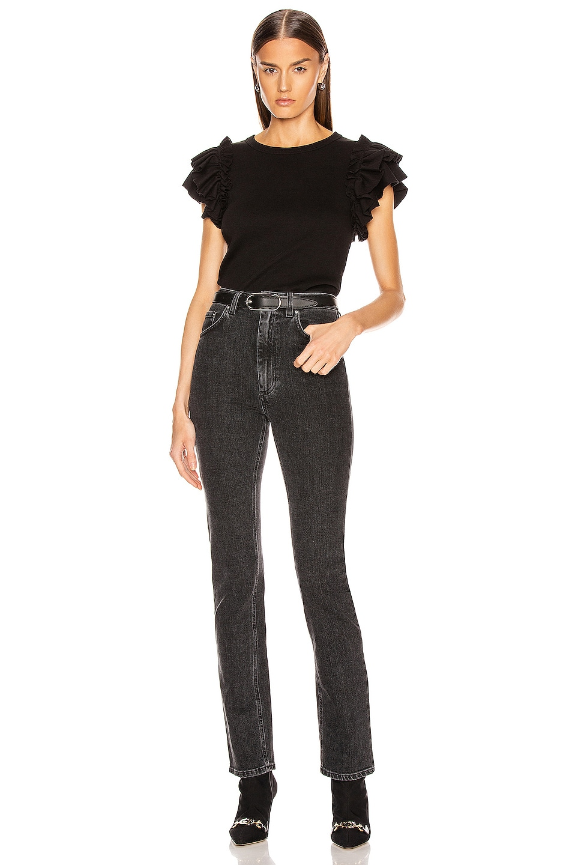 Image 4 of Veronica Beard Biscay Top in Black