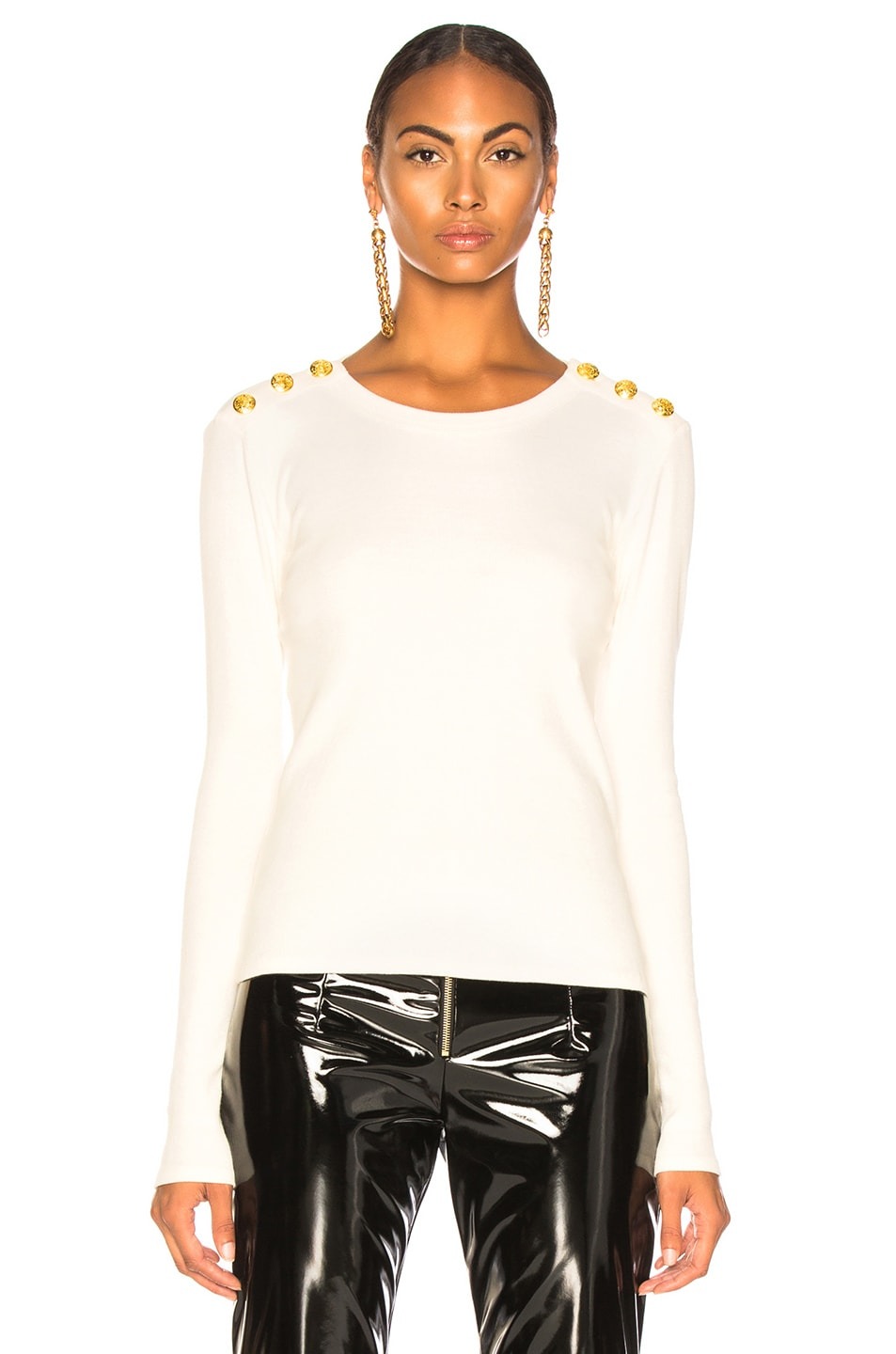 Image 2 of Veronica Beard Mayer Top in White