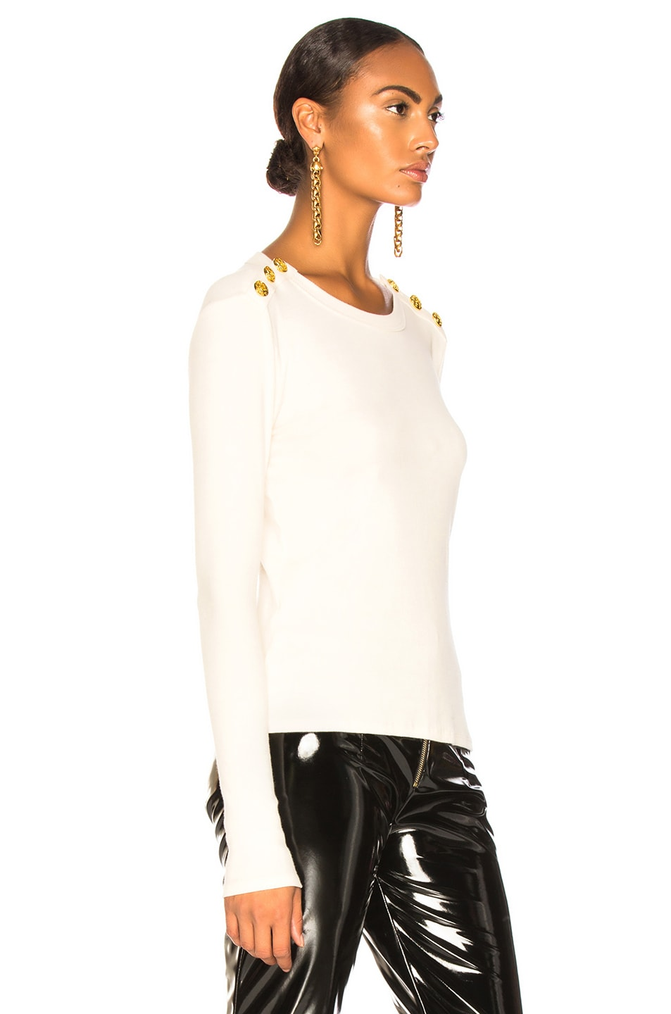 Image 3 of Veronica Beard Mayer Top in White