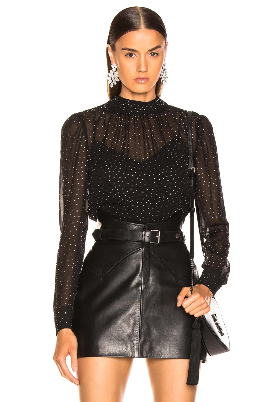 Image 1 of Veronica Beard Mena Top in Black