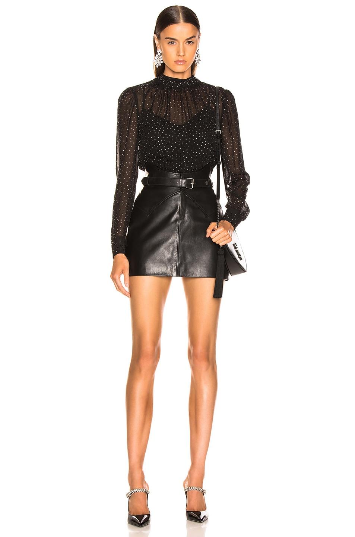 Image 4 of Veronica Beard Mena Top in Black