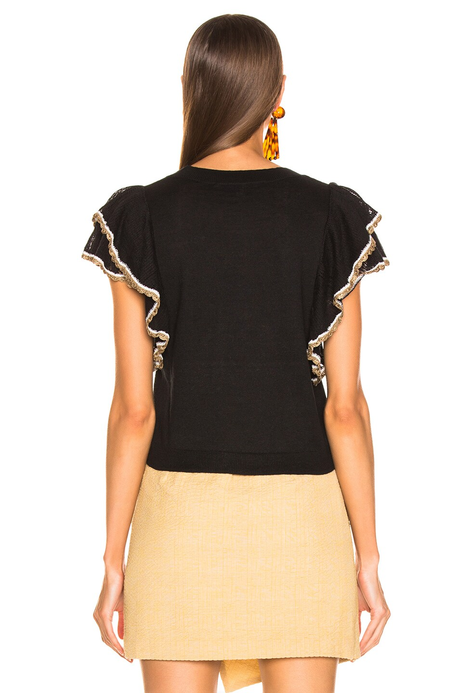 Image 3 of Veronica Beard Paz Top in Black
